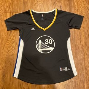 Stephen Curry adidas swingman women's jersey large